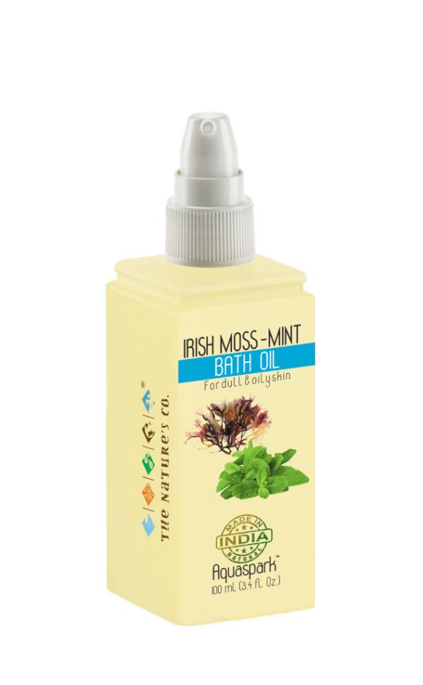 The Natures Co. Irish moss -mint bath oil
