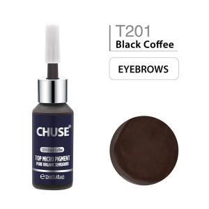 12ml 16 Color Tinta Para Tatuaje Black Coffee CHUSE  Micro Pigment Cosmetic Color Tattoo Ink