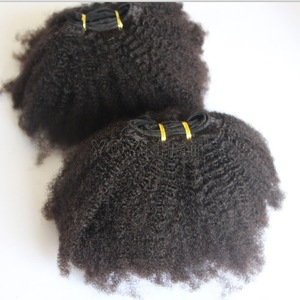 2019 Best selling afro Kinky twist curly hair extensions 4A 4B 4C , Virgin Mongolian puffy afro curly hair