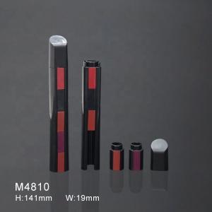 5 in 1 popular multilevel design black Make Your Own Private Label Lipstick Matte Natural Beauty Cosmetic