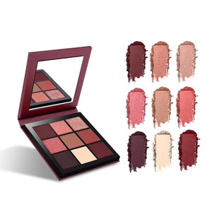 bright colored eyeshadow palette makeup high pigment private label eyeshadow palette