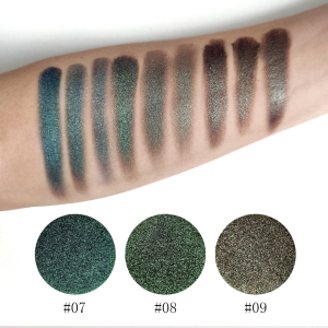 Cosmetics Makeup Products Eyeshadow Palette No Brand Makeup Pressed Pigment Eyeshadow Glitter