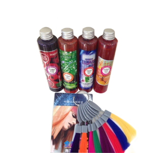 long-lasting shiny liquid hair color organic dye