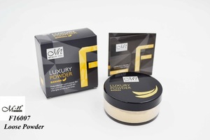 Menow Makeup F16007 Luxury Banana Powder Face Oil-control Loose Powder Foundation