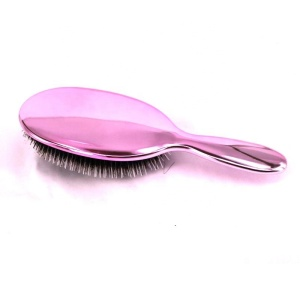 professional salon paddle hairbrush anti-static nylon mixed boar bristle hair brush