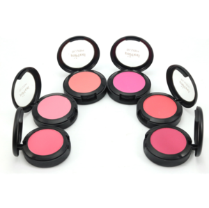 Wholesale Makeup Waterproof Face Compact Peach Color Powder Face Blushes