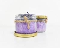 Handmade Lavender Bath Salt 120ml