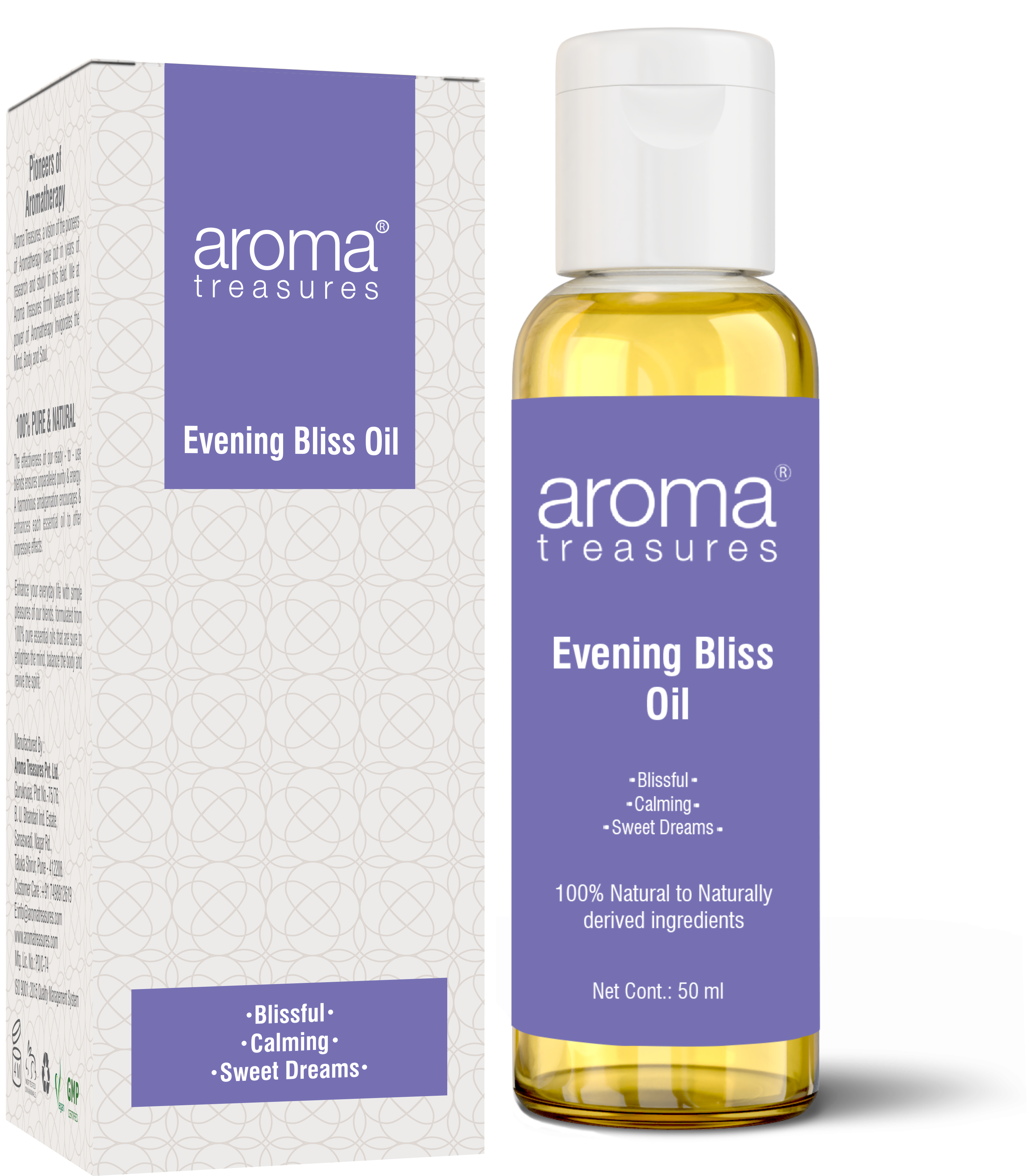 Aroma Treasures Evening Bliss Oil ( 50ml )