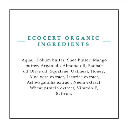 Timeless Beauty Secrets Organic Oat Milk Highly Moisturizing Unscented Hand & Body Butter For Tender Skin