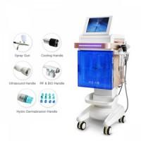Hot Sale Water Vacuum Dermabrasion Machine With Bio RF Oxygen Jet Peel Gun Frozen For Facial Cleanse Skin Rejuvenation