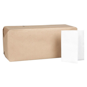 "1ply White or Brown 1/4 Fold 8.5""*13"" or 33*21.5cm Full Fold Dispenser Napkin"