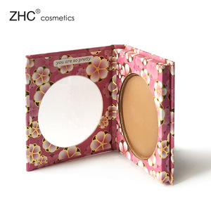 CC4296 Single pressed power makeup foundation in cardboard palette packing