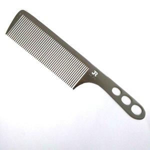 Custom aluminum metal cutting hair comb wholesale