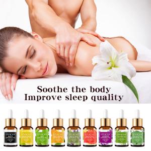 manufacturers wholesale private label natural organic sandalwood peppermint lemon tea tree lavender essential oils set