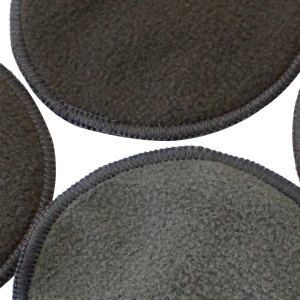 New Reusable Bamboo Charcoal Fiber Washable Rounds Pads Makeup Remover Cotton Pad Cleansing Facial Pad Tool
