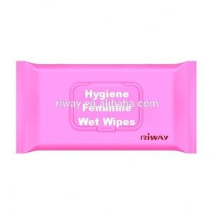 oem intimate feminine hygienic cleaning wet wipes