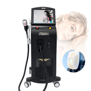 Popular Cosmetic machine 3 wavelength diode laser hair removal