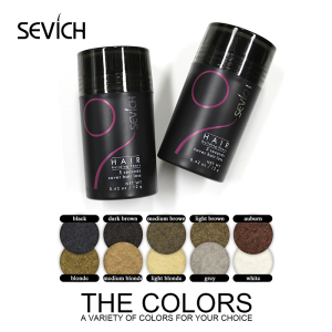 sevich Dropshipping Hair Building Fibers 10 Colors Hair Loss Treatment hair Care Products