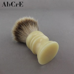 Silvertip Badger Hair Bright Color Resin Handle Shaving Brush Grooming Tool