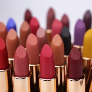 Wholesale Waterproof Vegan Lipstick Make Your Own Logo Lipstick Container Matte Private Label Lipstick