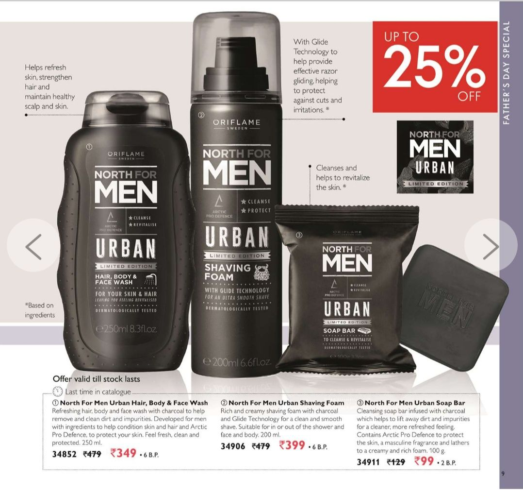 Men's charcoal collection