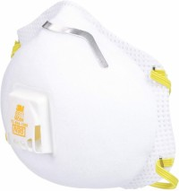 3M N95 8511 NIOSH/CDC Approved Respirator Valve Mask
