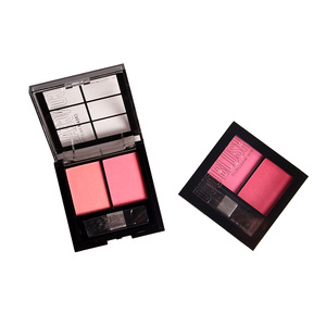 2 color blush and conceal cosmetic makeup palette