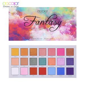 Brand  Docolor  Y2104 high quality   24 color beautiful  new model colorful eyeshadow palette