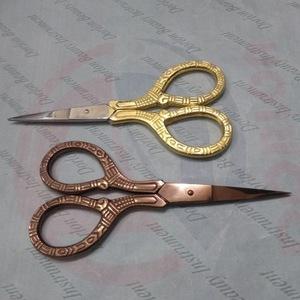 Gold & Rose Gold Beauty Scissors,cutting scissor,Eyebrow Scissors