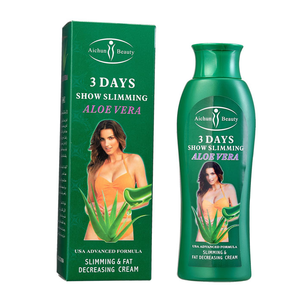 Hot Sale Wholesale Retail aichun 3 Days 2in1 chili Slimming Cream,lose weight solution 200ml