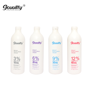 Hot selling wholesale manufacturer natural best salon use professional developer peroxide oxidant cream in hair dye