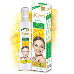 KANZA WHITENING BODY LOTION