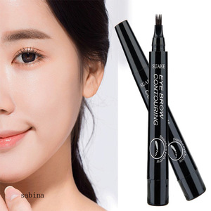 New Four-fork eyebrow pencil durable anti-waterproof makeup eyebrow pencil