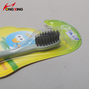 Oral hygiene PP plastic baby use travel toothbrush