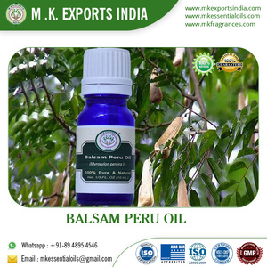Pure and Natural Balsam Essential Oil from Peru Used as Powerful Healer