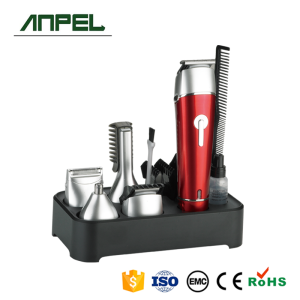 Rechargeable Men Grooming Kit Hair Clipper Set with Beard Trimmer