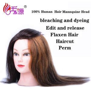 Salon hairdresser training head african american Female mannequin head for wig display