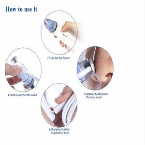 Skin care electric vacuum tool for blackhead removal cream