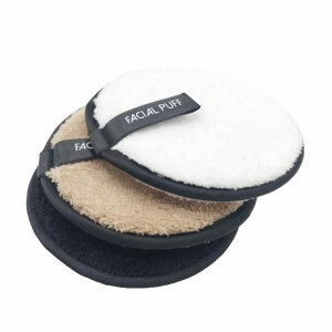 Washable reusable makeup remover pads for facial cleansing sponge and womens eye makeup remover pads