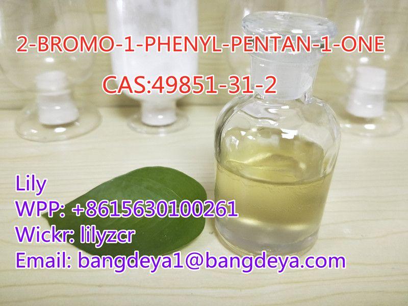 2-BROMO-1-PHENYL-PENTAN-1-ONE  CAS:49851-31-2