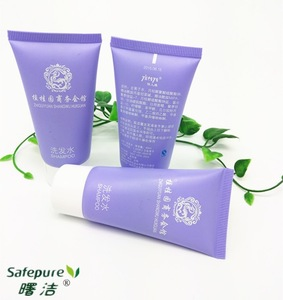 30ml purple tube shampoo for hotels use