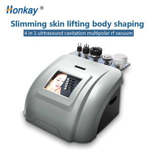 4 in 1 cavitation rf vacuum body slimming machine vacuum cavitation system