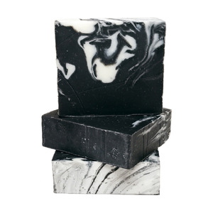 Amazon best seller LOW MOQ private label natural charcoal soap