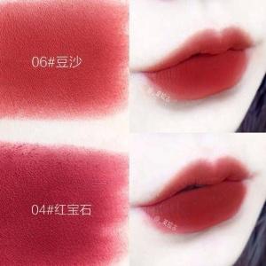 Christmas Wholesale Matte Velvet Waterproof Pink Creamy Non-sticky Rich Pigment Lip Gloss