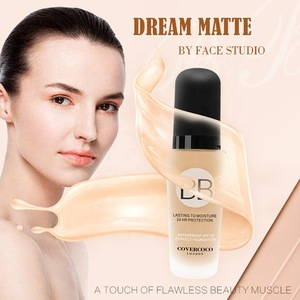 Face Make Up Full Coverage Waterproof Long Lasting BB Makeup Liquid Foundation Cream