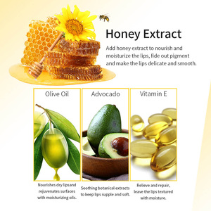 Factory Directly Wholesales Waterproof Honey Moisturizing Beeswax Lip Balm