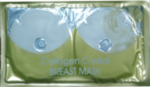 Moisturing Firming Chest Crystal Mask Collagen Breast Mask Wholesale