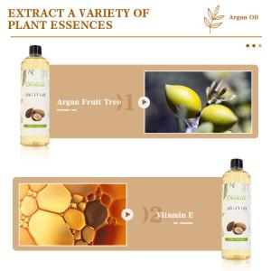 Natural Hair oil restore hair frizzy, brittle and dry Argan oil bulk