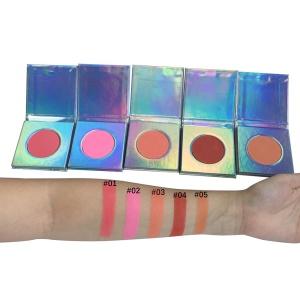 Private Label 50pcs Low MOQ High Pigment Contour Blush Palette