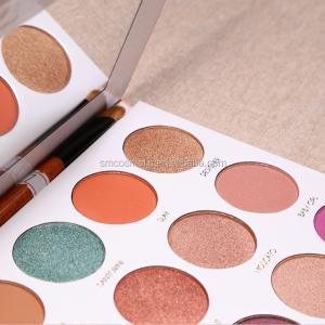 S32  Newest eye shadow palette 35 color custom private label eyeshadow palette